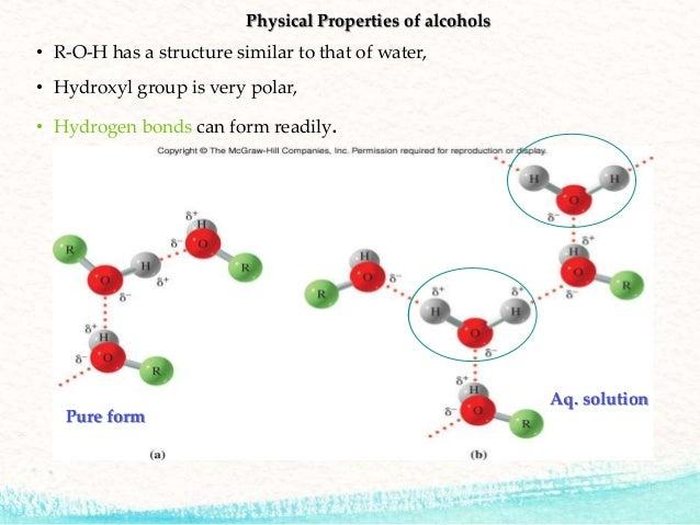 Alcohol chemistry
