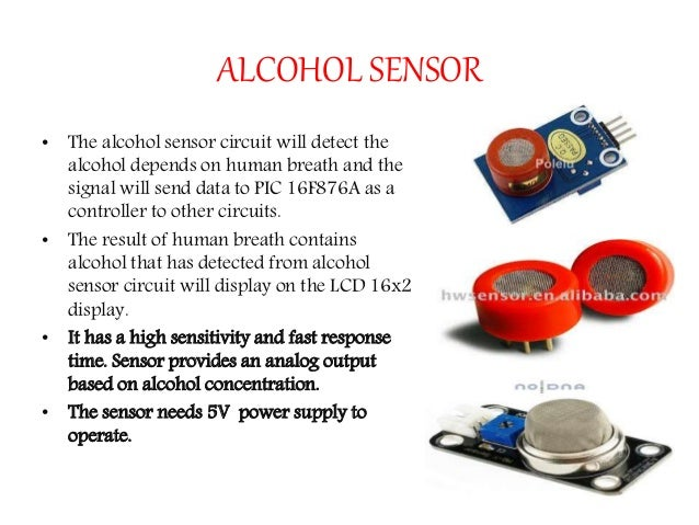 Alcohol detector.