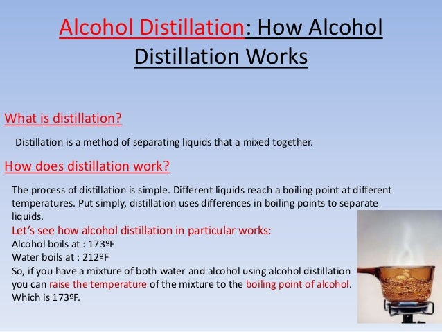 Difference Between Distillation Brewing & Fermentation
