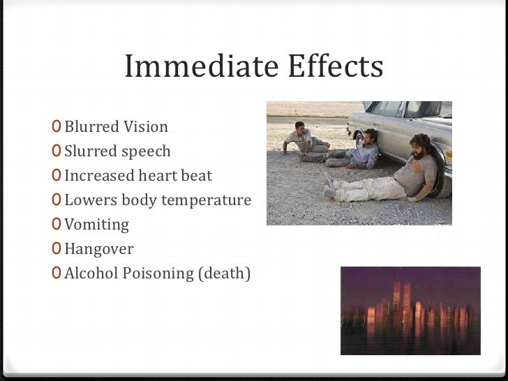 Alcohol & drinking presentation