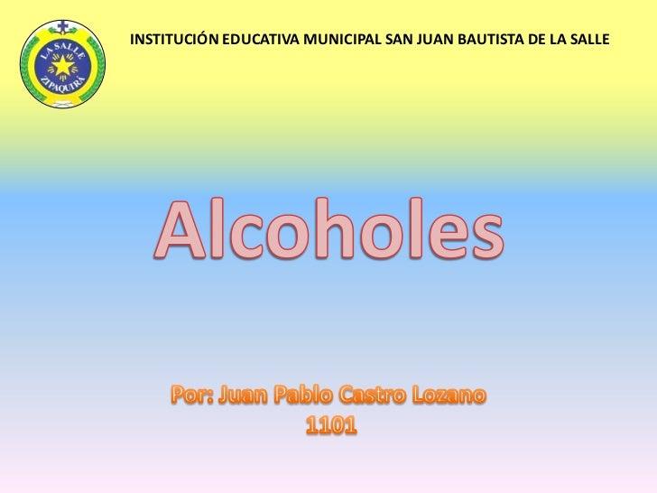 INSTITUCIÓN EDUCATIVA MUNICIPAL SAN JUAN BAUTISTA DE LA SALLE