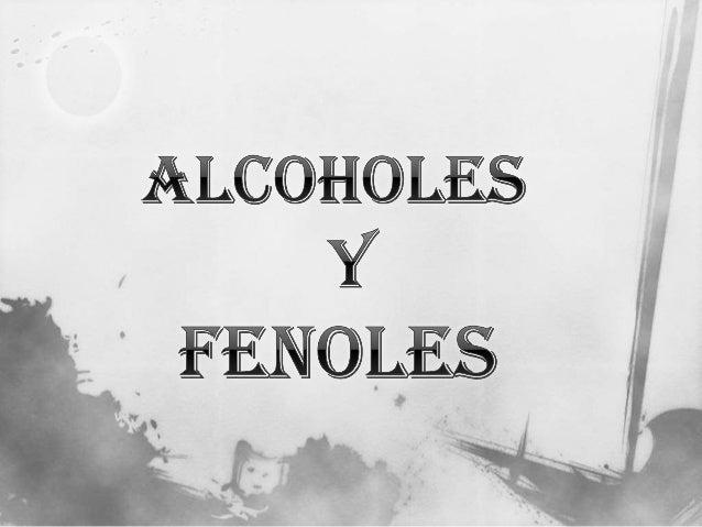  Desinfectantes  Disolventes  Bebidas  Perfumes  Combustible Importancia de los alcoholes