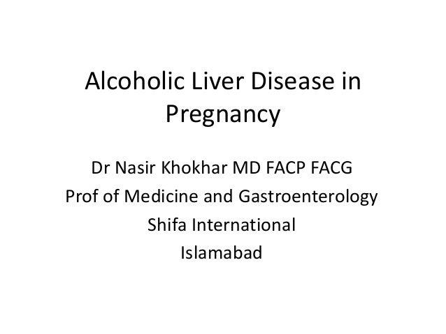 Alcoholic liver disease in Pregnancy Slide 2