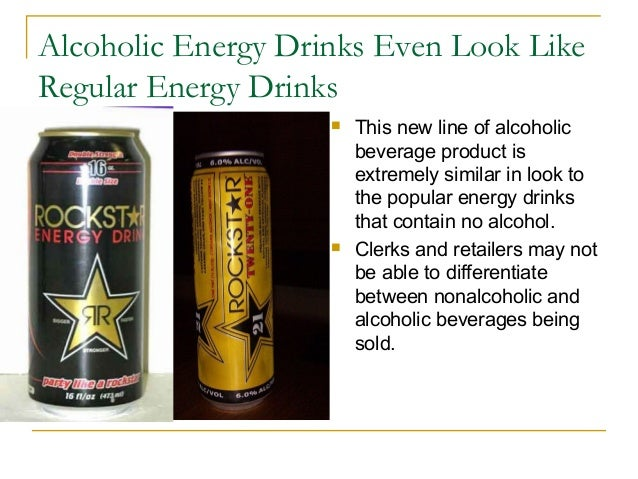the effect on energy drinks alcoholic The newest rage among college students and teens is mixing energy drinks with alcohol, a potentially dangerous combination, says a ball state university researcher.