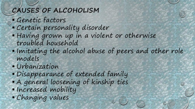 an introduction to the causes of alcoholism According the indian health services, the rate of alcoholism among native americans is six times the us average.