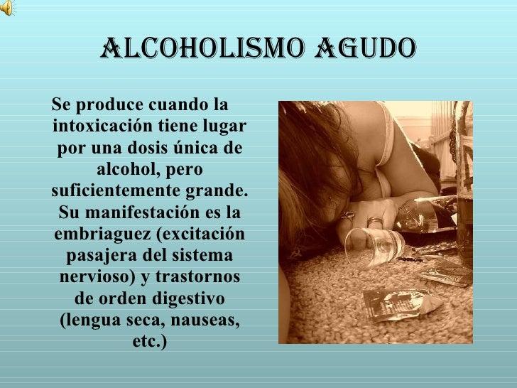 El preparado de los cedazos del alcoholismo los pinchazos