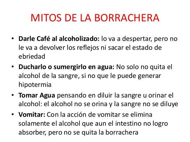El alcoholismo la presentación mirar