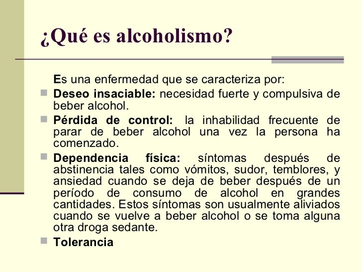 Las consecuencias de la codificación del alcoholismo para las mujeres
