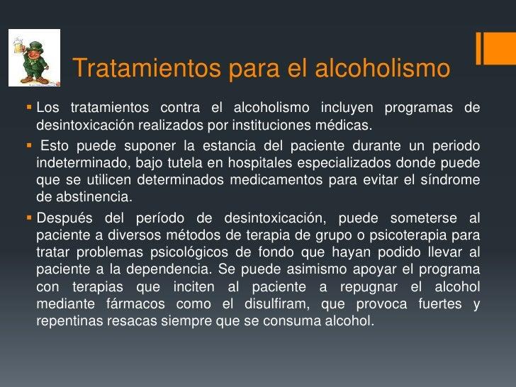 El alcohol después del pinchazo del alcoholismo