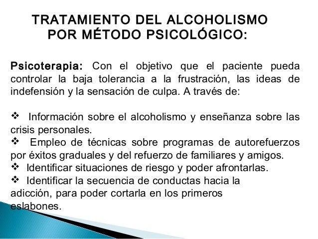 El alcoholismo esta conducta que declina