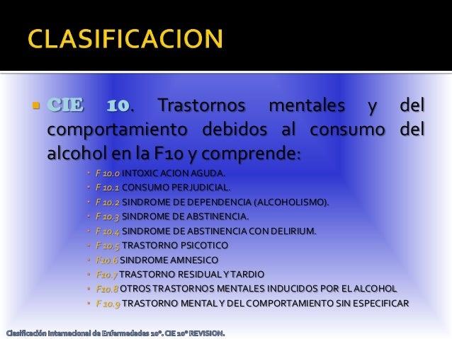 La clínica medicinal del alcoholismo