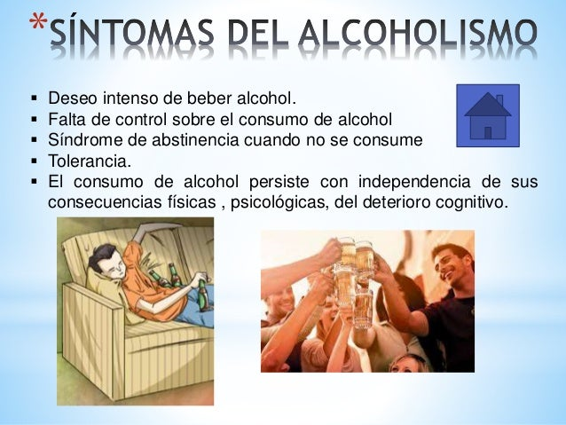 El test de la dependencia al alcohol