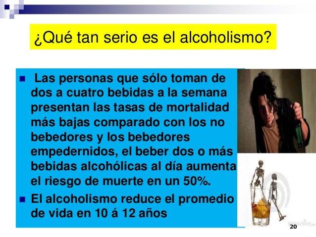 Los impresos sobre el tratamiento contra el alcoholismo