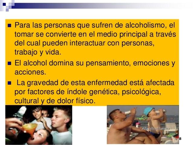 Las cápsulas para la codificación del alcoholismo