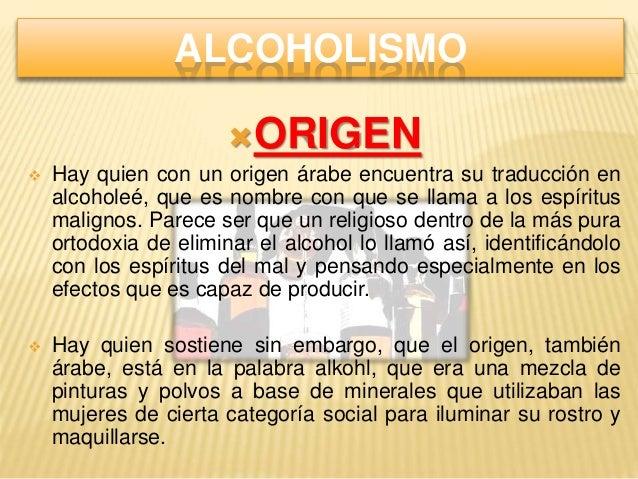 Los preparados para el tratamiento del alcoholismo