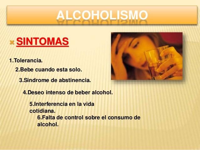 Que análisis al alcoholismo