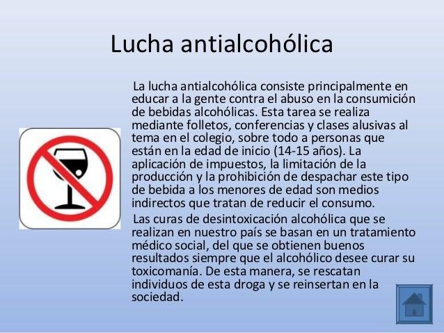 El método medicamentoso del tratamiento contra la dependencia alcohólica