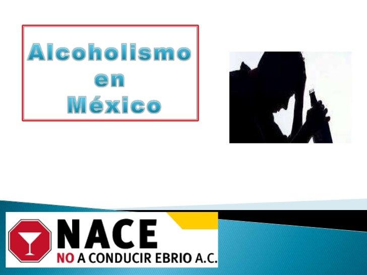 La noción el alcoholismo la borrachera