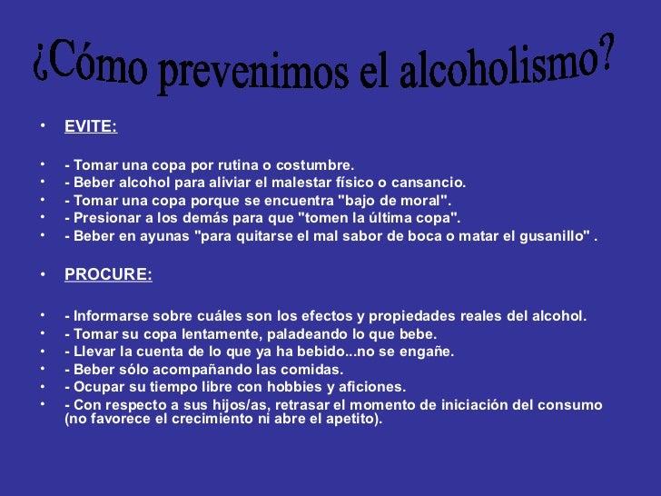 Las revocaciones de la codificación del alcoholismo