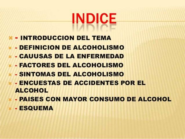 Las psicosis alcohólicas la clasificación