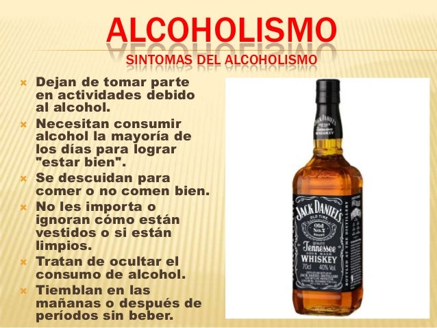 Los secretos de la codificación del alcoholismo