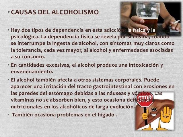 Los guiones la medida del alcoholismo y el tabaquismo