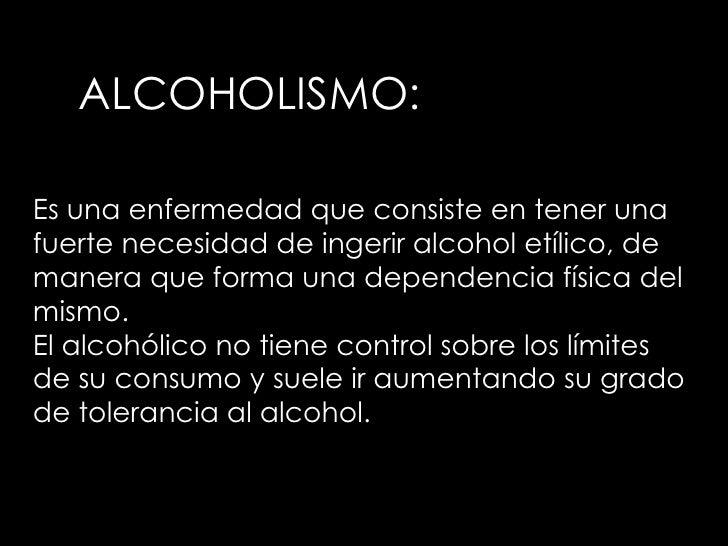La medicina contra el alcoholismo que llaman
