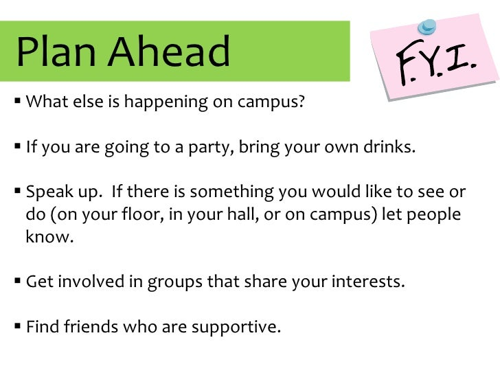 """People will pressure me to drink.</li></ul>None of these are true, thousands of UNH students don't drink, or """"party"""" and s..."""