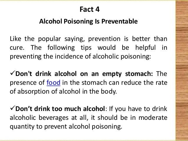 Can I Drink Alcohol If I Have Food Poisoning