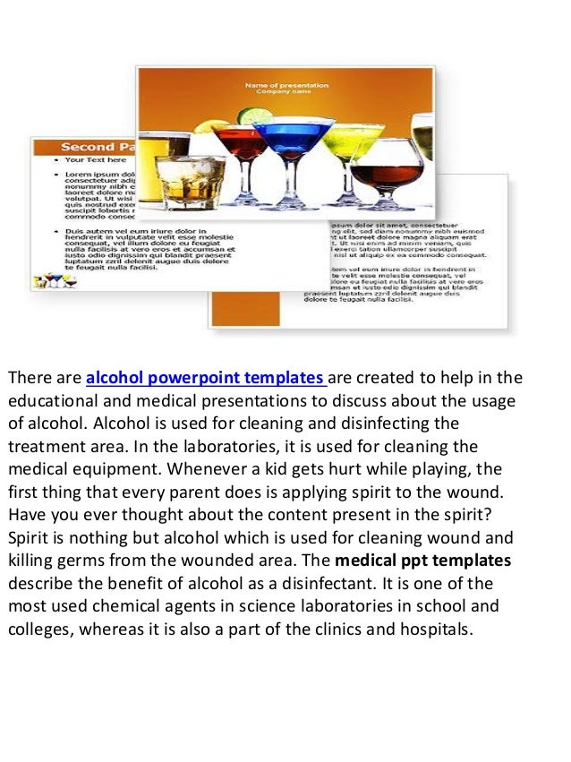 alcohol powerpoint templates and ppt slides slideworldcom