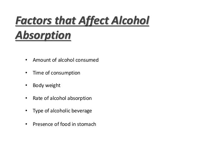 Presentation on Alcohol toxicity