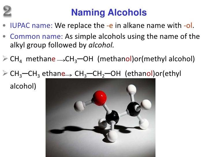 Organic Chemistry Alcohol presentation