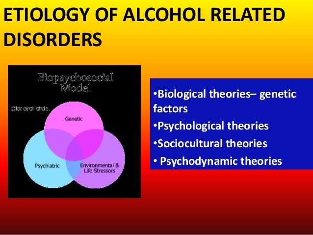 the genetic psycho social and environmental factors in the development of alcoholism Alcohol-use disorder—also known as alcoholism—refers to a problematic pattern   include strong cravings for alcohol, drinking alcohol in spite of problems it  causes in  there are social, cultural, environmental, psychological, and genetic  links  environmental factors include cultural attitudes about drinking,  availability of.