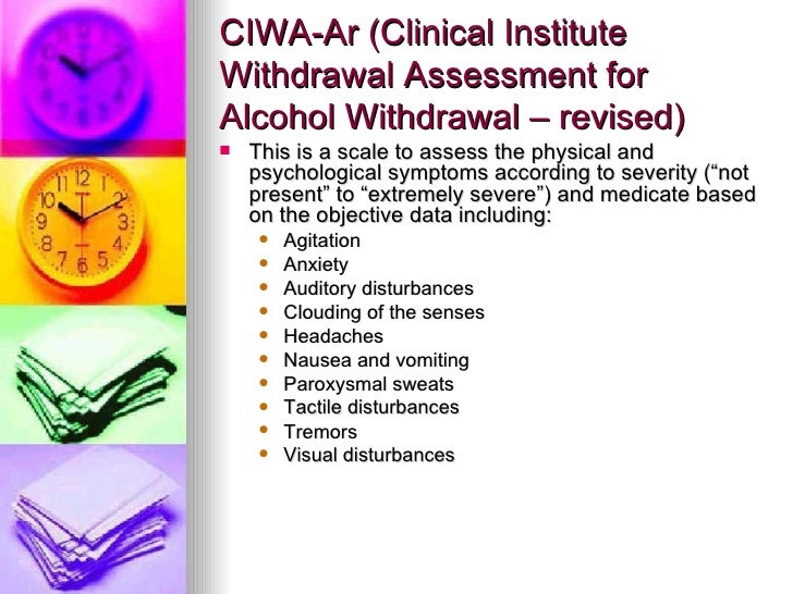 Alcohol Withdrawal
