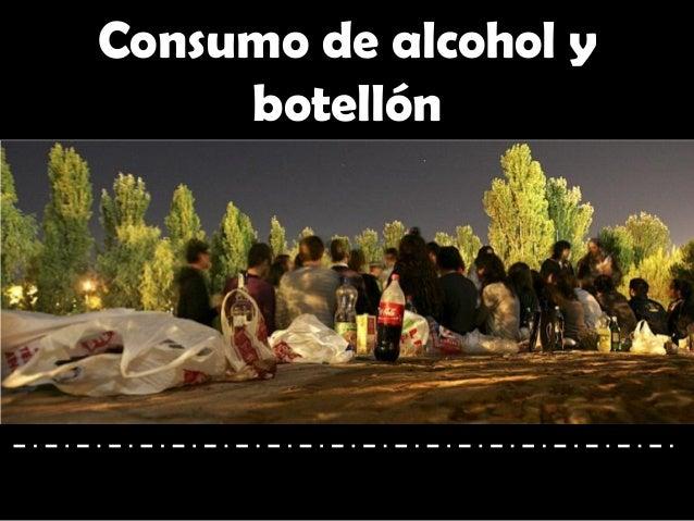 Consumo de alcohol y botellón