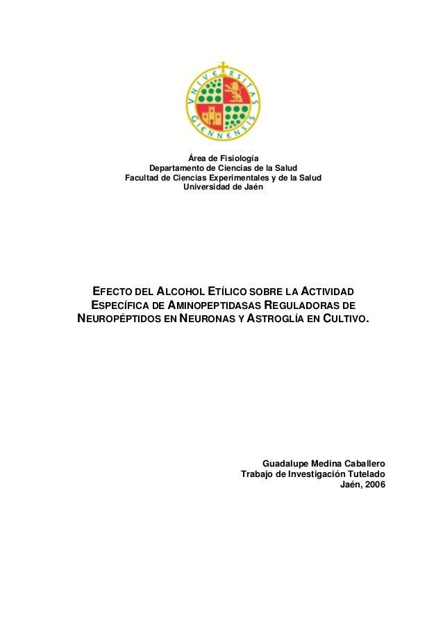 Área de Fisiología              Departamento de Ciencias de la Salud        Facultad de Ciencias Experimentales y de la Sa...