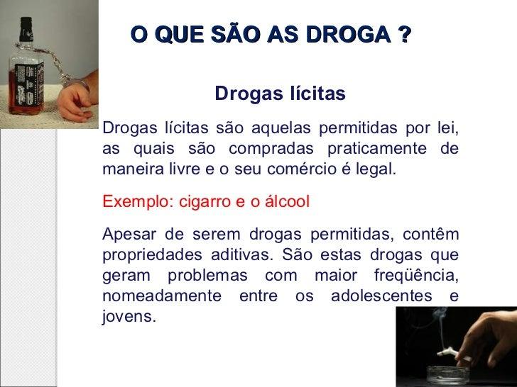 Alcool e outras drogas Slide 3