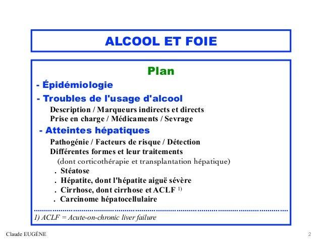 Alcool et foie Slide 2