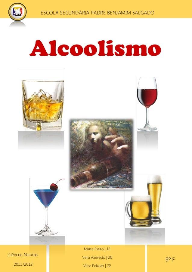 Tratamentos de respostas de curso de alcoolismo