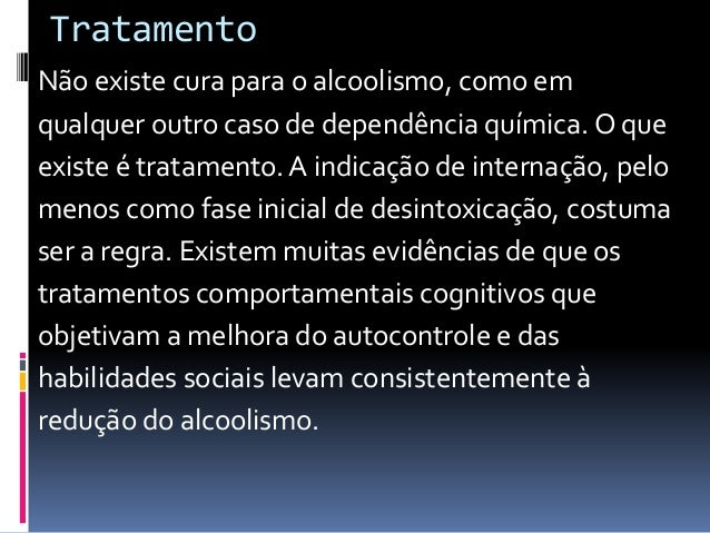Drogas para codificar para o alcoolismo a lista