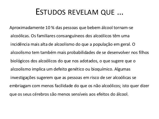 A codificação de agulhas de alcoolismo
