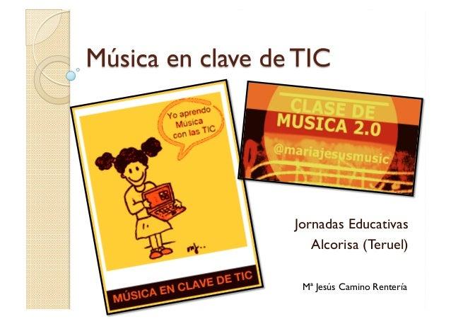 Jornadas EducativasAlcorisa (Teruel)Mª Jesús Camino Rentería