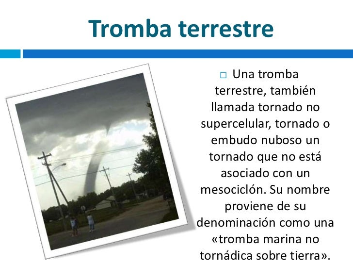 tipos de tornados