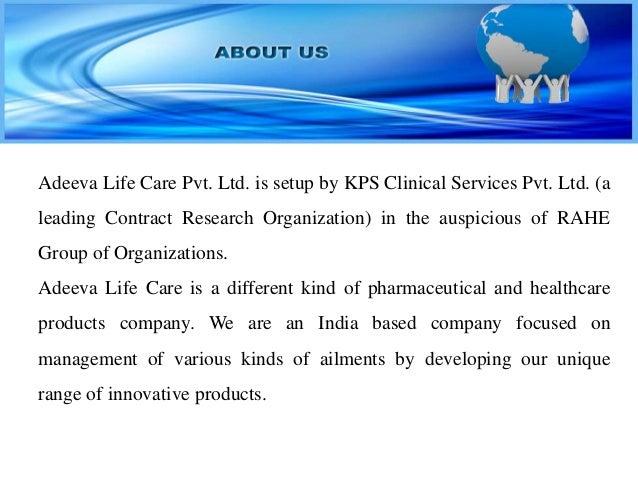 ADEEVA LIFE CARE PRESENTATION Slide 2