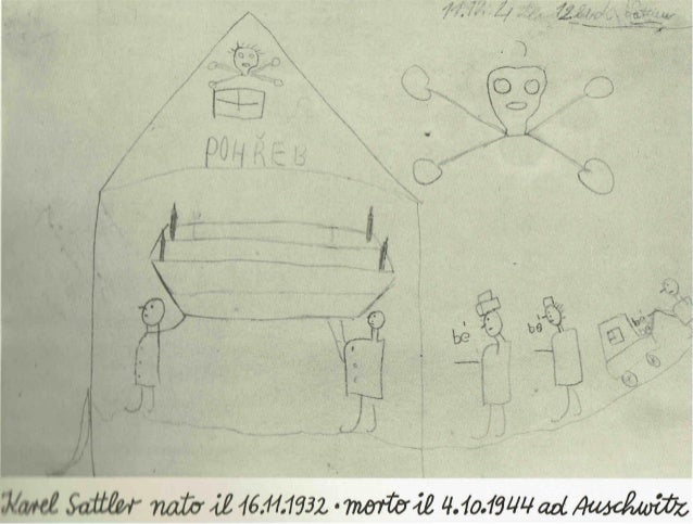 Alcune poesie e disegni dei bambini di terezìn