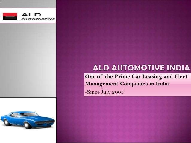 Advantages Of Company Car Leasing