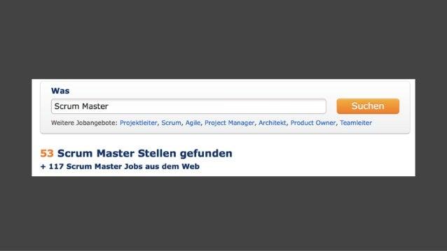 Scrum Master: Schluss mit cool Slide 2