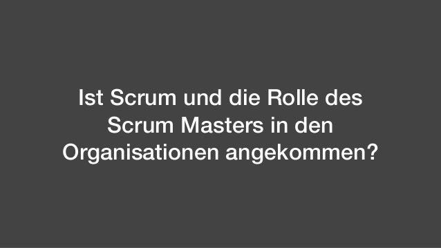 Scrum Master: Schluss mit cool Slide 3