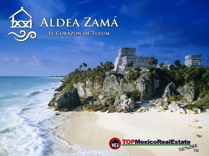 A new Downtown is born    of a NEW IDEA When    Aldea Zamá springs to life, it will be the fulfillment of a master plan fo...