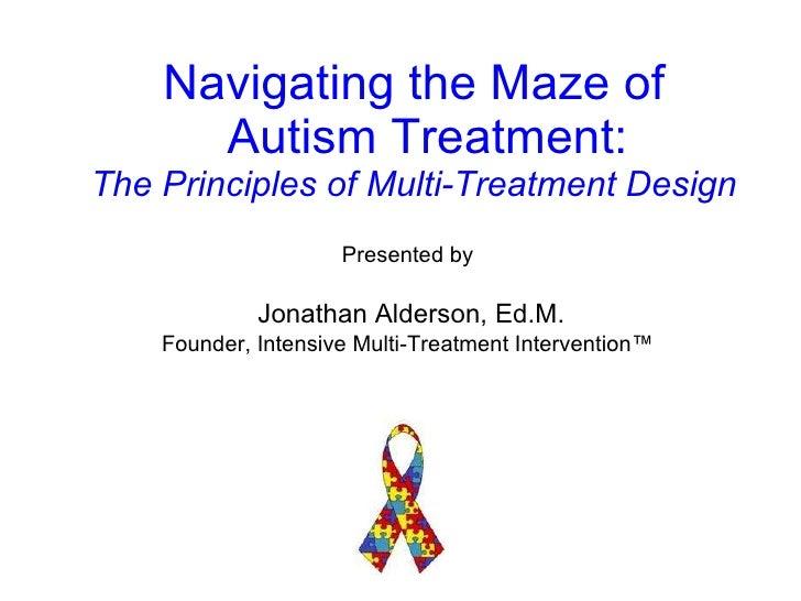 <ul><li>Presented by </li></ul><ul><li>Jonathan Alderson, Ed.M. </li></ul><ul><li>Founder, Intensive Multi-Treatment Inter...